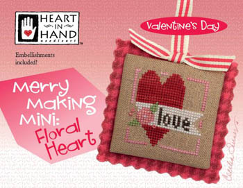 Merry Making Mini - Floral Heart (w/ emb.)