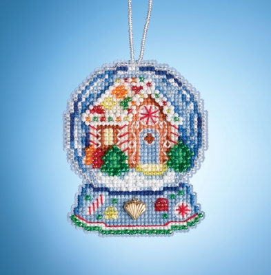Bead Kit - Gingerbread House Globe