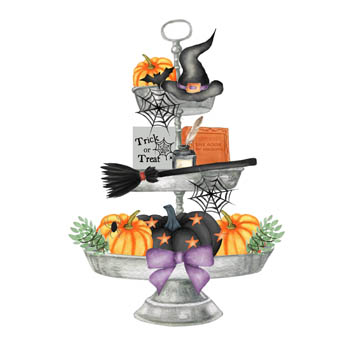 Halloween Tray Magnet