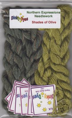 Shades of Olive - DD Silk Pack